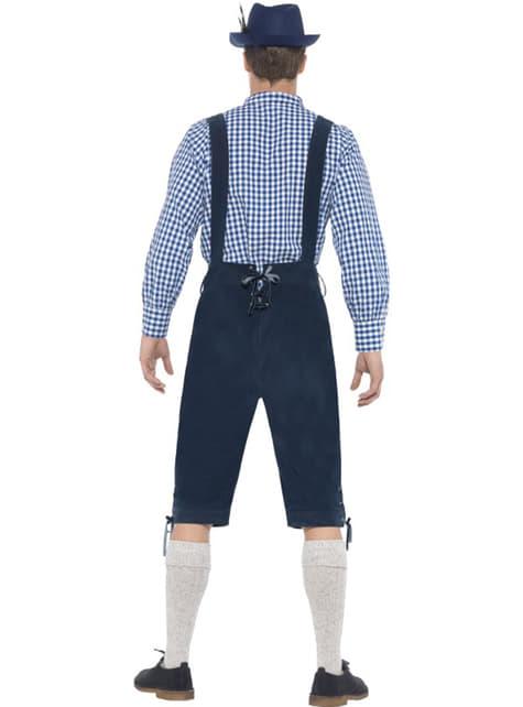 Disfraz de tirolés tradicional para hombre - hombre
