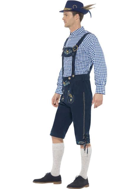 Disfraz de tirolés tradicional para hombre - original