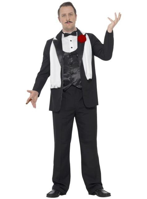 Disfraz de padrino mafioso para hombre
