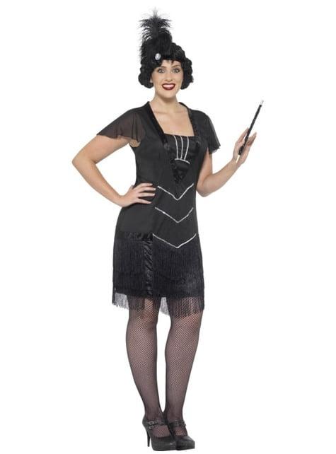 Disfraz de chica de cabaret para mujer