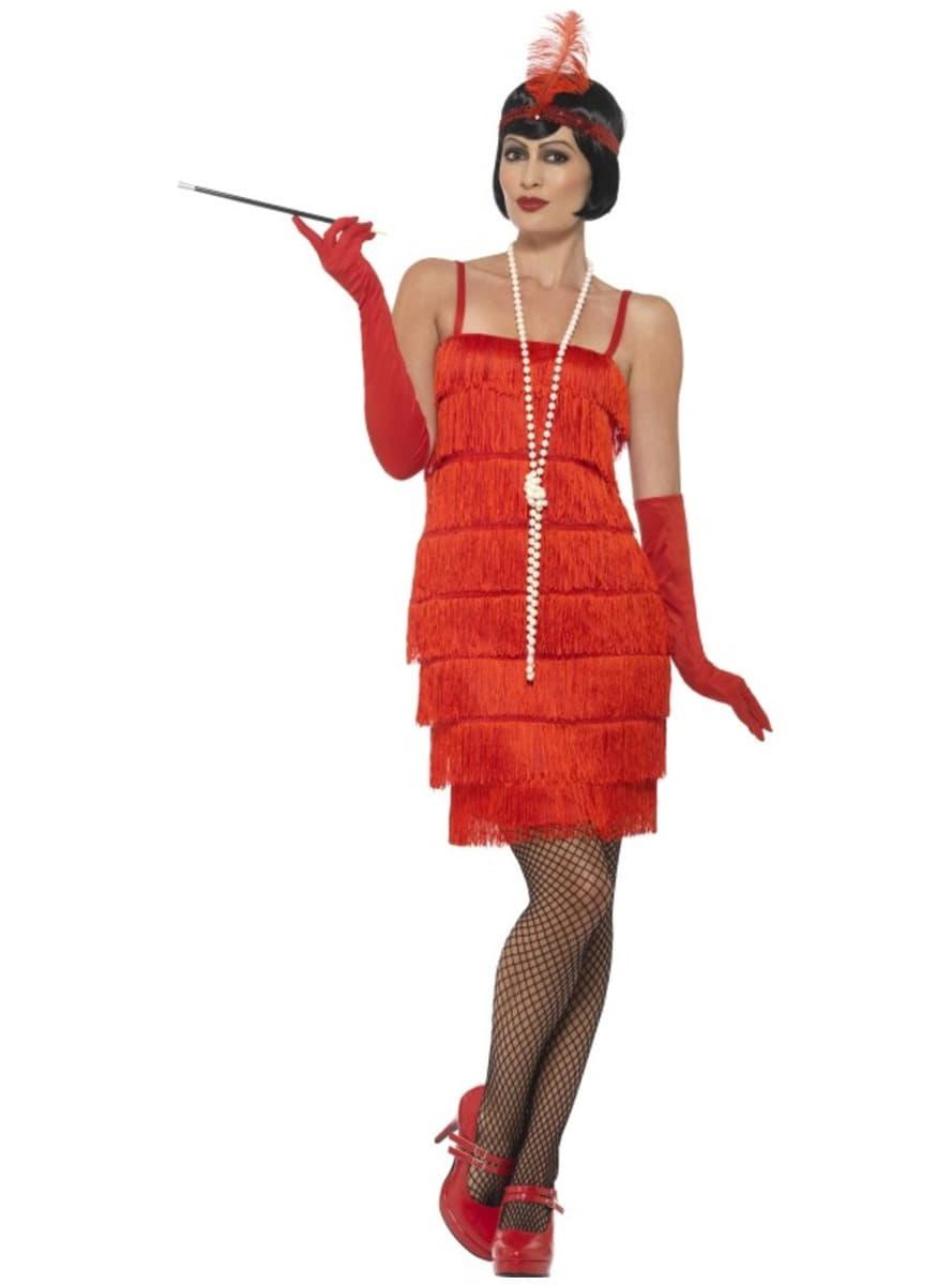 20er Jahre Damen Kostum Rot Fur Damen Die Lustigsten Modelle