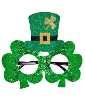Glasögon treklöver Saint Patrick