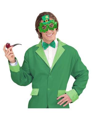 Pyhän Patrickin shamrock silmälasit