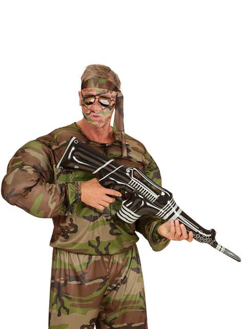Ametralladora hinchable - para tu disfraz