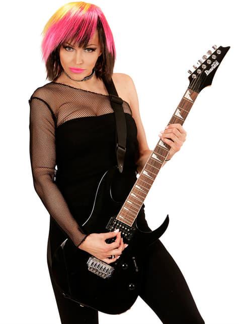 Peluca rosa gótica para mujer - original