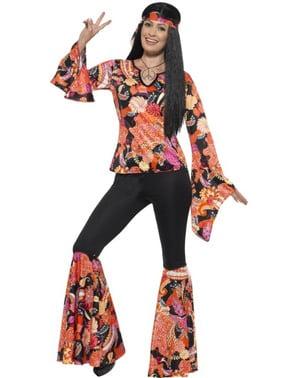 Costum de hippie de petrecere pentru femeie