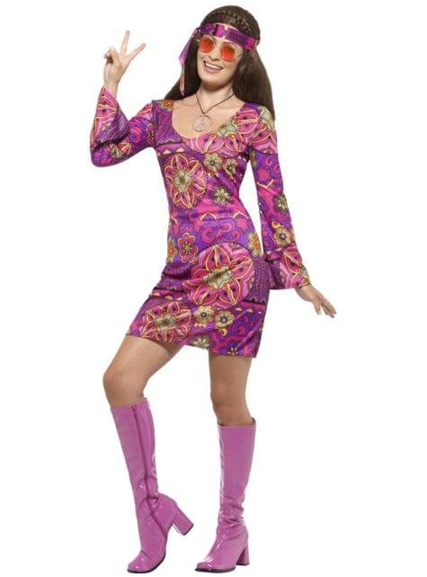 Free Love Hippy Costume for women
