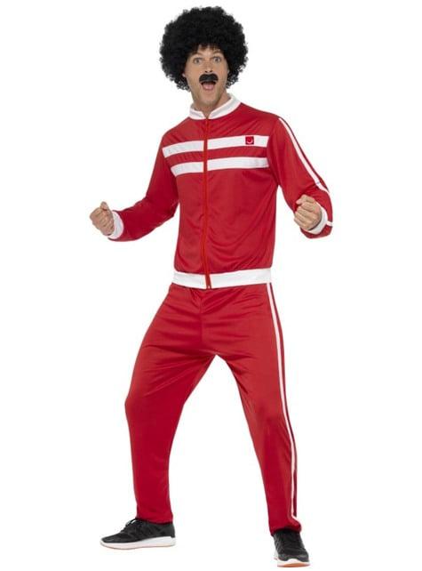 Disfraz de chándal años 80 para hombre