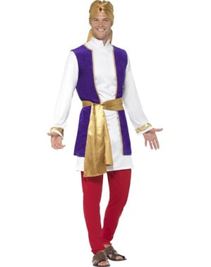 Costume da principe d'Arabia per uomo