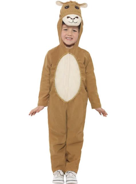 Chlapecký kostým plyšový velbloud