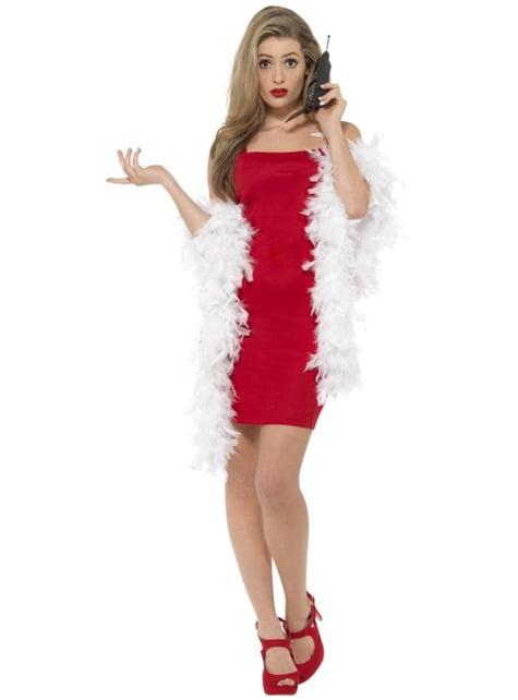 Disfraz de Cher rojo Clueless para mujer