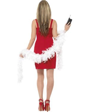Rødt Cher Clueless Kostyme Dame