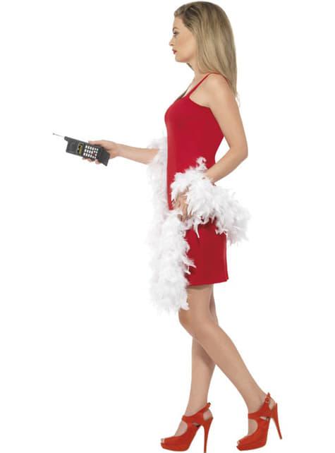 Disfraz de Cher rojo Clueless para mujer - original