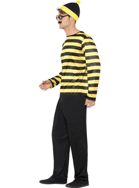 Man's Odlaw Where's Wally Costume