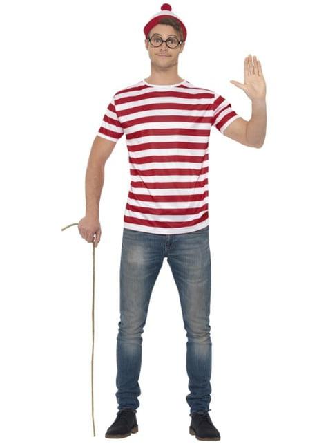 Disfraz Dónde Está Wally para hombre