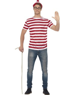 Man's Where's Wally Costume