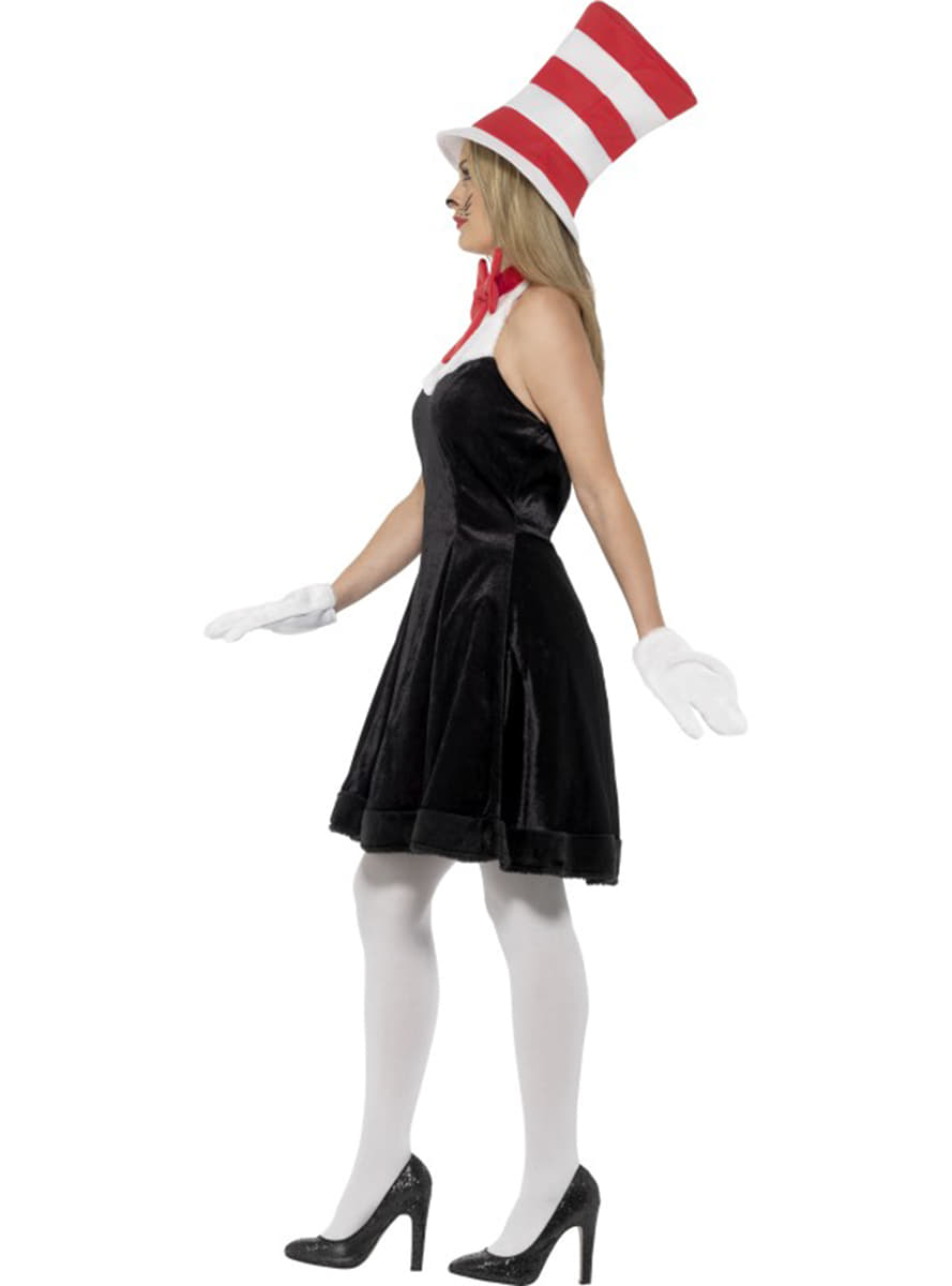 Cat In The Hat Costumes Say hello to your old friend Dr. Seuss and purchase The Cat in The Hat costume today. 's The Cat in The Hat introduced the world to a creative and destructive anthropomorphic cat.