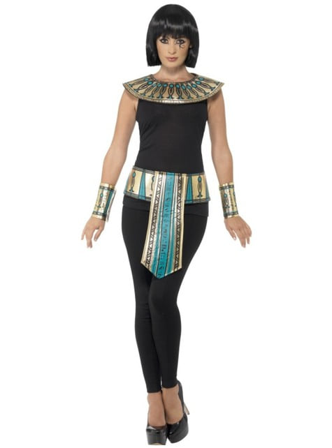Kit de faraona egipcia para mujer