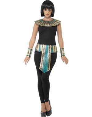 Kit de faraó egípcia para mulher