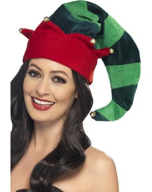 Cappello da elfo aiutante per adulto
