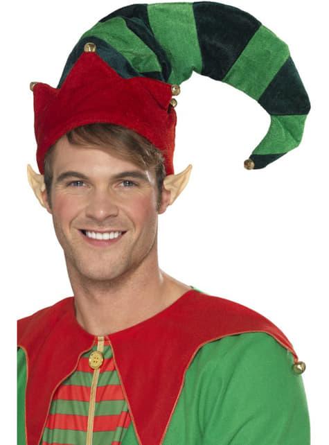 Gorro de elfo ayudante para adulto - para tu disfraz