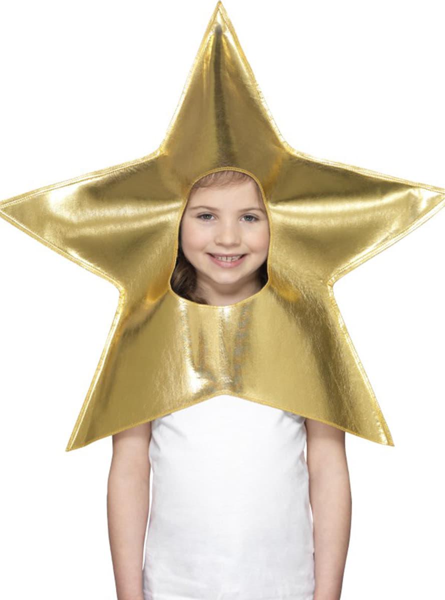 Gorro De Estrela De Natal Infantil Entrega 24h Funidelia
