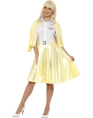 Sandy Dee Grease Costume Wanita