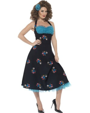Woman's Cha Cha DiGregorio Grease Costume