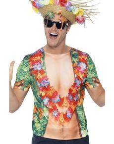 Camiseta de fiestero en Hawai para hombre