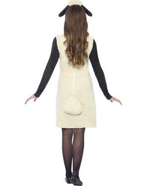 Costume da Shaun The Sheep per donna