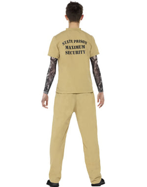 אסיר תלבושות עבור בני נוער