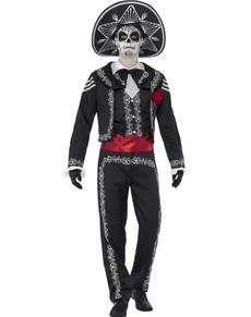 Disfraz de mariachi difunto para hombre