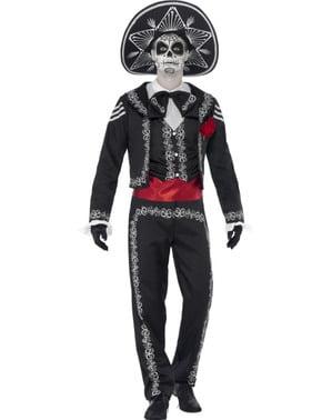 Чоловічий костюм на День Мертвих