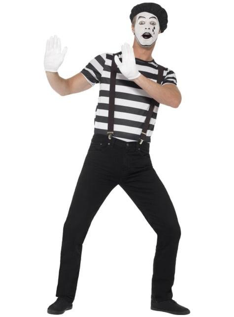 Disfraz de mimo para hombre