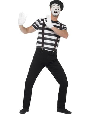 Man's Mime Costume