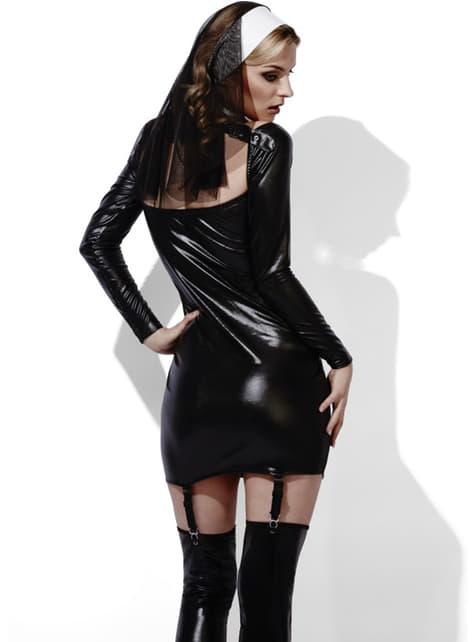 Disfraz de monja de poca clausura Fever para mujer - mujer