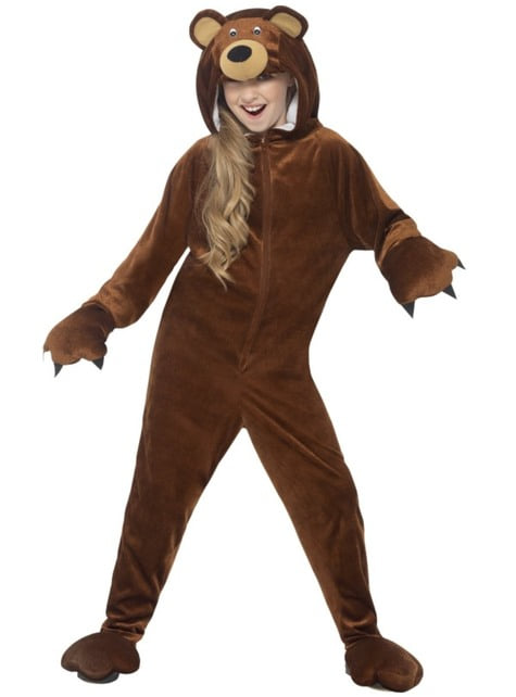 Disfraz de oso poco amoroso infantil