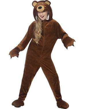 Drilsk Bjørn kostume til børn