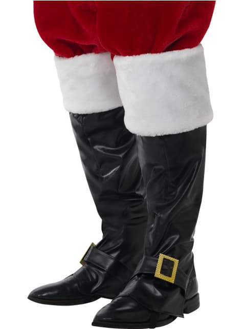 Cobre botas de Pai Natal deluxe para homem