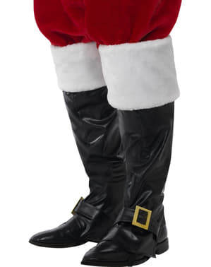 Cubrebotas de Santa Claus deluxe para hombre