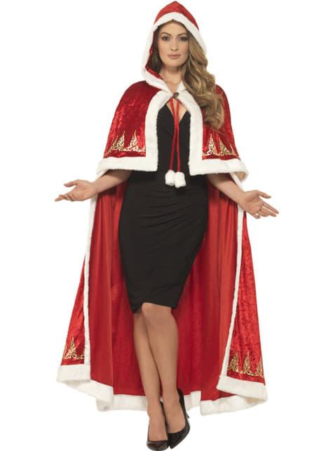 Miss Santa cape voor vrouw