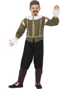 Shagespear kostyme til gutt