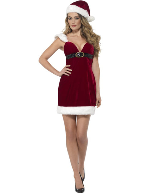 Mrs Claus costume for women