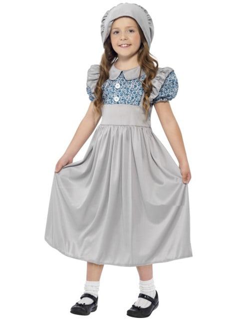 Victoriaans kostuum voor meisjes