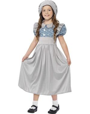 Victoriansk Kostume til Piger