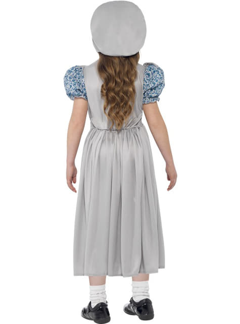 Girl's Victorian Student Costume