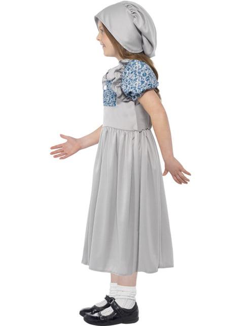 Disfraz de estudiante victoriana para niña - original