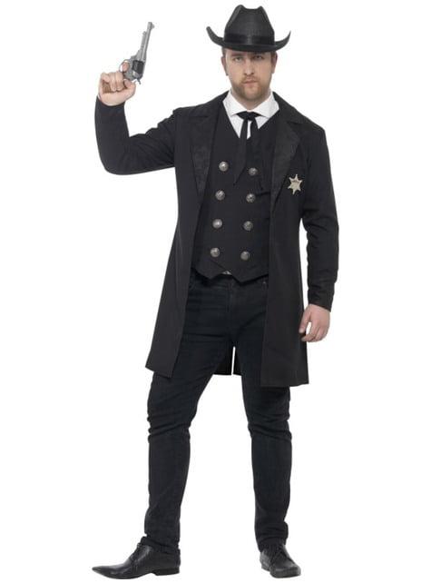 Sheriff Kostüm für Herren große Größe
