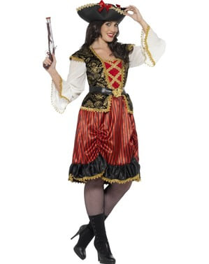 Lady piraat kostuum voor vrouw