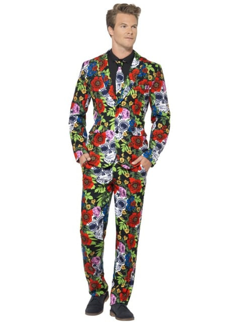 Man's Day of the Dead Suit